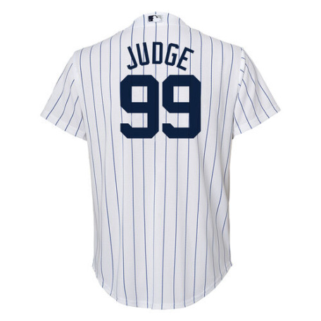 New York Yankees Youth Aaron Judge Home Jersey