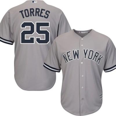 New York Yankees Gleyber Torres #25 Jersey