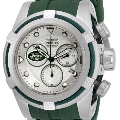 INVICTA NFL NEW YORK JETS MENS QUARTZ WATCH