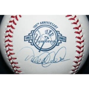 Signed Derek Jeter Baseball – 1903 2003 100th Anniversary Steiner Coa