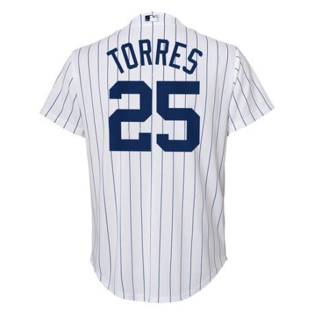New York Yankees Youth Gleyber Torres Jersey