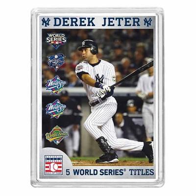 Derek Jeter Hall of Fame Silver Commemorative