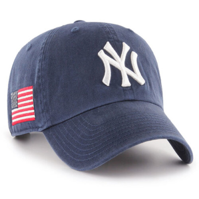 New York Yankees Adult Heritage USA Flag Hat