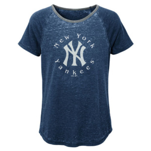New York Yankees Dugout Diva Girls Shirt