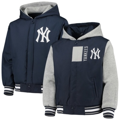 Youth New York Yankees Hoodie Jacket