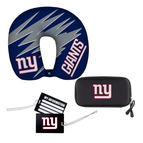 New York Giants Four-Piece Travel Set-