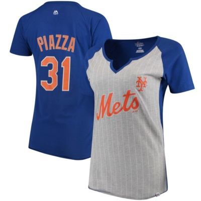 Women's New York Mets Mike Piazza T-Shirt