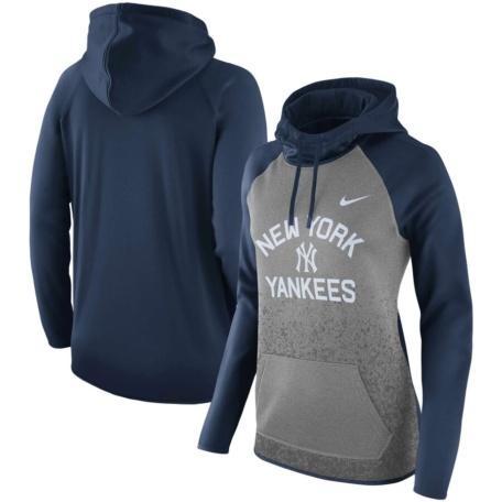 New York Yankees Nike Women's Pullover Hoodie -