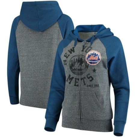 New York Mets Women's Fleece Hoodie