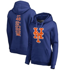 Jacob deGrom New York Mets Women's Hoodie -