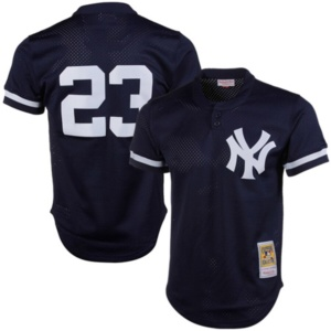 New York Yankees Don Mattingly Mitchell & Ness Mesh Jersey