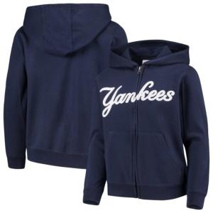New York Yankees Youth Full-Zip Hoodie