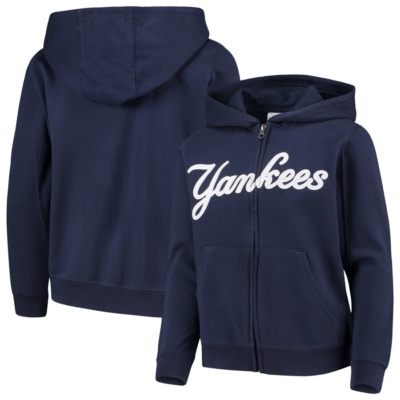 New York Yankees Youth Full-Zip Hoodie