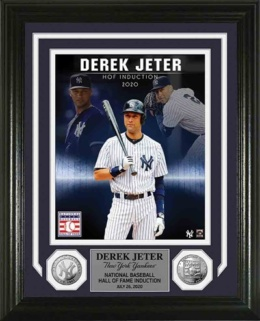 Derek Jeter - 2020 Hall of Fame Framed Photo
