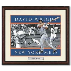 David Wright Signed Photo