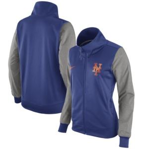 New York Mets Nike Women's Full-Zip Jacket