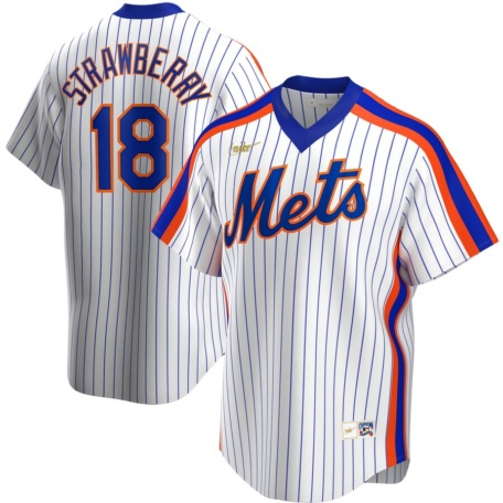 Darryl Strawberry New York Mets Nike Home Cooperstown Collection Player Jersey