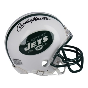 Authentic Curtis Martin New York Jets Mini Helmet