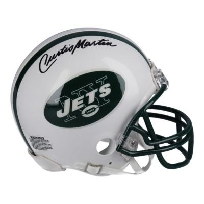 Authentic Curtis Martin New York Jets Mini Helmet