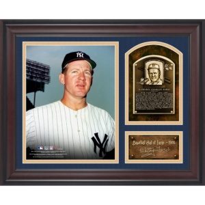Whitey Ford New York Yankees Baseball Hall of Fame Collage