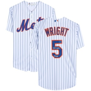 David Wright New York Mets Authentic Autographed Authentic Jersey