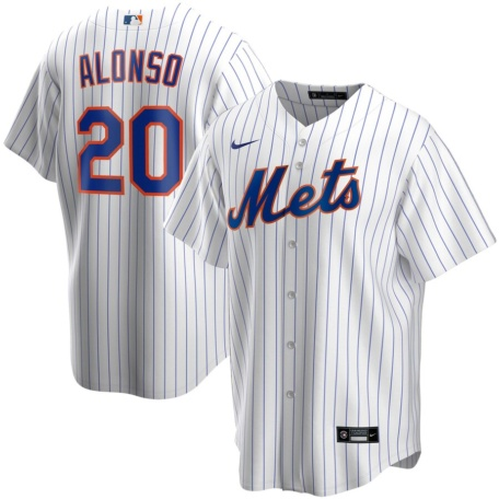 Pete Alonso New York Mets Nike Home 2020 Replica Player Jersey