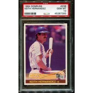1984 Donruss #238 Keith Hernandez Mets