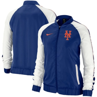 Women's New York Mets Nike Full-Zip Jacket
