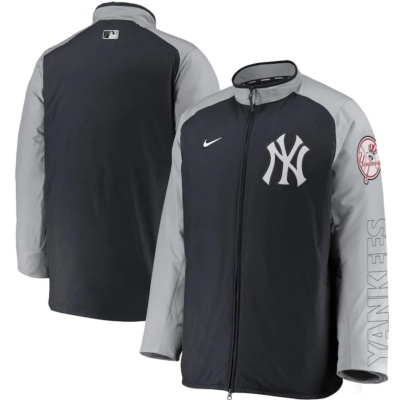 Nike New York Yankees Navy Authentic Collection Dugout Full-Zip Jacket