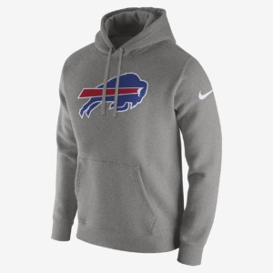 Nike Club Fleece (NFL Bills)-Men's Pullover Hoodie