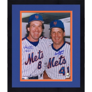 Tom Seaver & Gary Carter New York Mets Autographed 16″ x 20″ Photograph with Multiple Inscriptions – JSA
