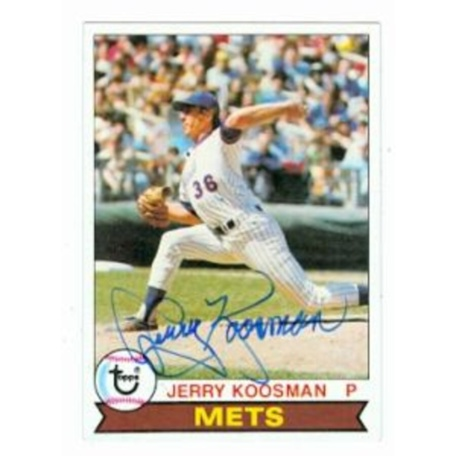 Jerry Koosman autographed Baseball Card (New York Mets) 1979 Topps #655