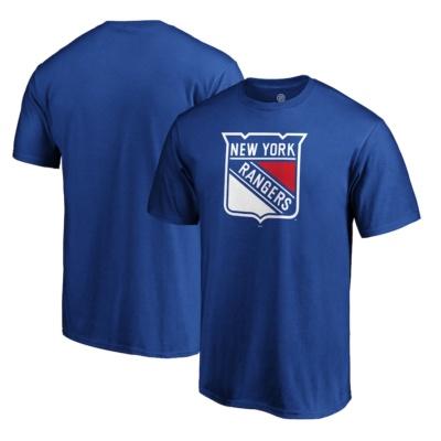 New York Rangers Fanatics Branded Team Primary Logo T-Shirt