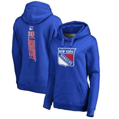 Henrik Lundqvist New York Rangers Women's Pullover Hoodie