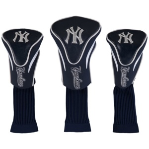 New York Yankees 3-Pack Contour Golf Club Head Covers