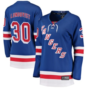 Henrik Lundqvist New York Rangers Fanatics Branded Women's Home Breakaway Player Jersey