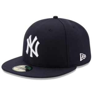 New Era New York Yankees Navy Game Authentic Collection On-Field 59FIFTY Fitted Hat