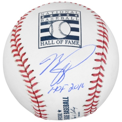 Mike Piazza New York Mets Autographed Hall of Fame Baseball