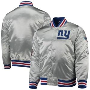 New York Giants Full-Snap Jacket