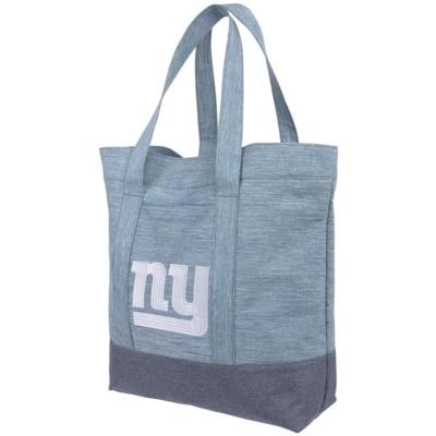 Women's New York Giants Chambray Tote Bag