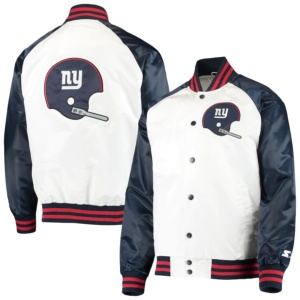 New York Giants Full-Snap Jacket -