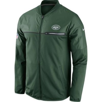 Nike New York Jets Green Performance Jacket