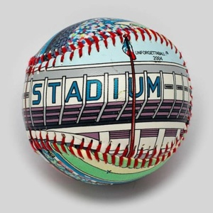 Yankee Stadium (1976-2008) Unforgettaballs Limited Commemorative Baseball with Lucite Gift Box