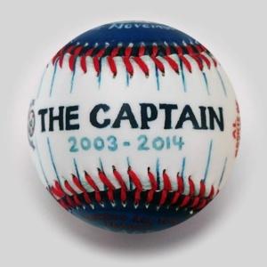 "COMMEMORATIVE BASEBALL: ""THE CAPTAIN"""