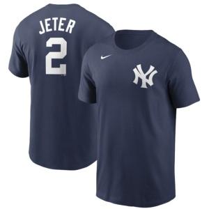 Derek Jeter New York Yankees Nike Name & Number T-Shirt