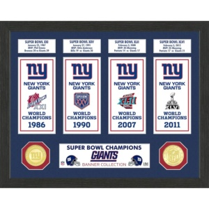 New York Giants Super Bowl Photo