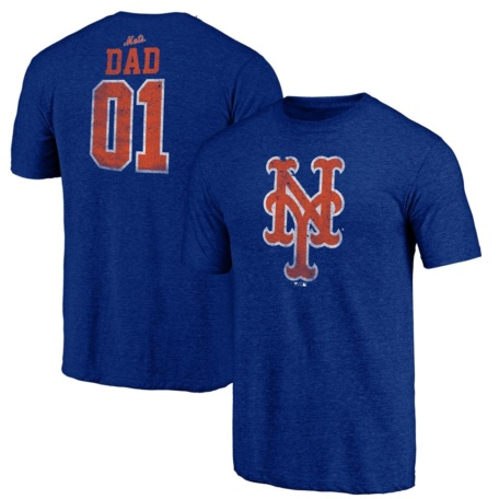 New York Mets Greatest Dad T-Shirt
