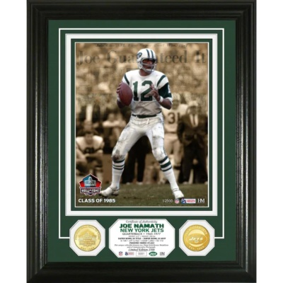 Joe Namath New York Jets Photomint
