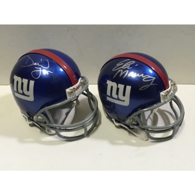 Eli Manning David Tyree helmet