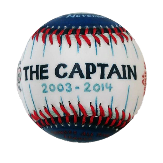"COMMEMORATIVE BASEBALL: ""THE CAPTAIN"""